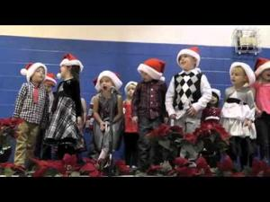 Little Rascals Christmas Program 2014