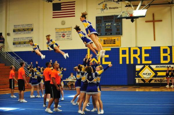 Borgia Cheerleading