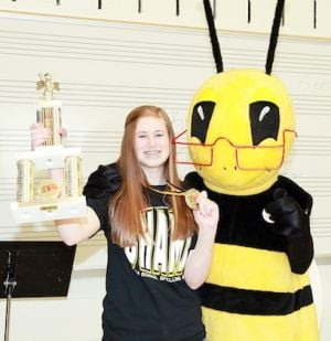 Union Girl Repeats as Champion in Spelling Bee