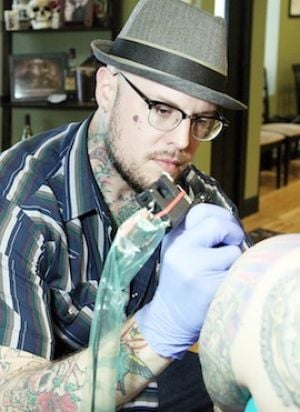 Kyle Scarborough's Tattoos Are One-of-a-Kind