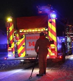Fire Scene