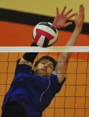 Borgia Volleyball Ends Season at District Event