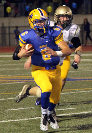 Week 10 Football — Borgia Rolls Past Kennedy, 42-6