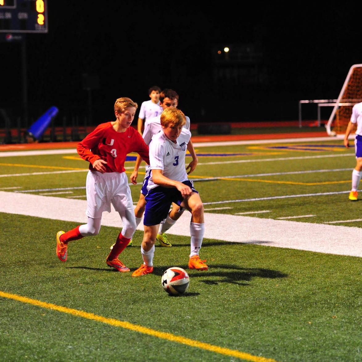 District Boys Soccer — Pacific vs. Union