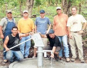 New Well in Honduras