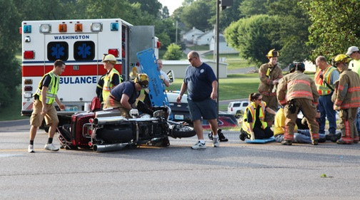 Highway 47 Accident Thursday Morning