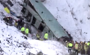 Oregon tour bus crash