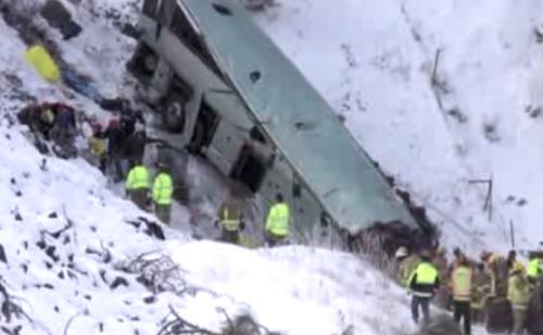 Oregon tour bus crash