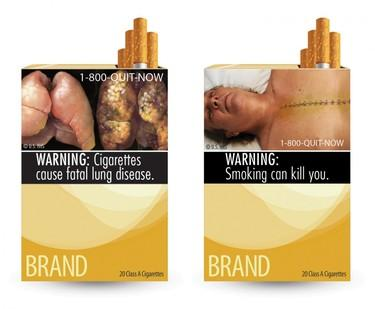 Proposed New Cigarette Warning Label