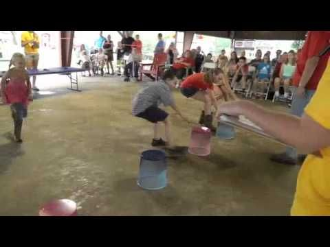 Oreo Stacking Contest at Washington Town and Country fair 2014