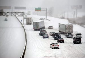 The Plains Get Slammed With Second Snow Storm in a Week