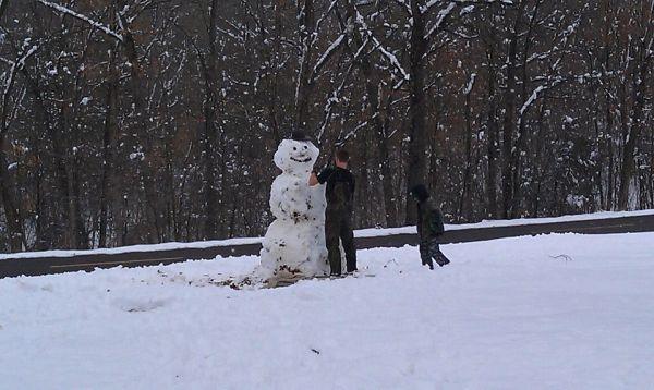 St. Clair Snowman