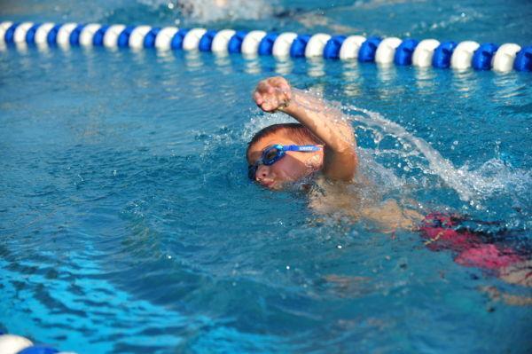 Washington Swim Team Wins
