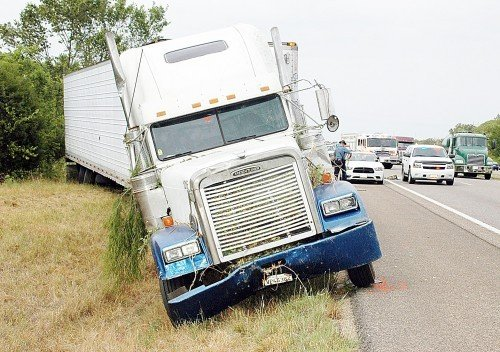 Truck Driver Dies