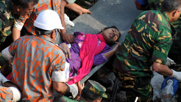 Bangladesh Building Collapse Survivor