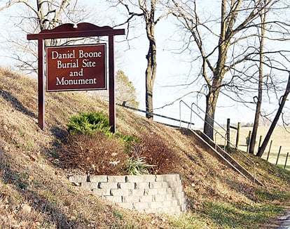 Boone Monument Entrance