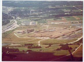 Wentzville GM Aerial plant view