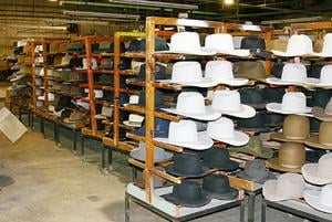 Hats Among Auction Items