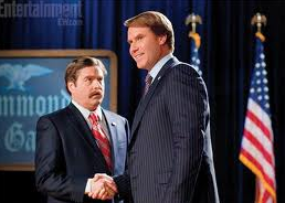 Movie still from 'The Campaign'