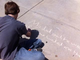 Chalk Poem 4