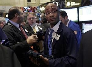 Stocks Sink in Early Trading While Gold Plunges