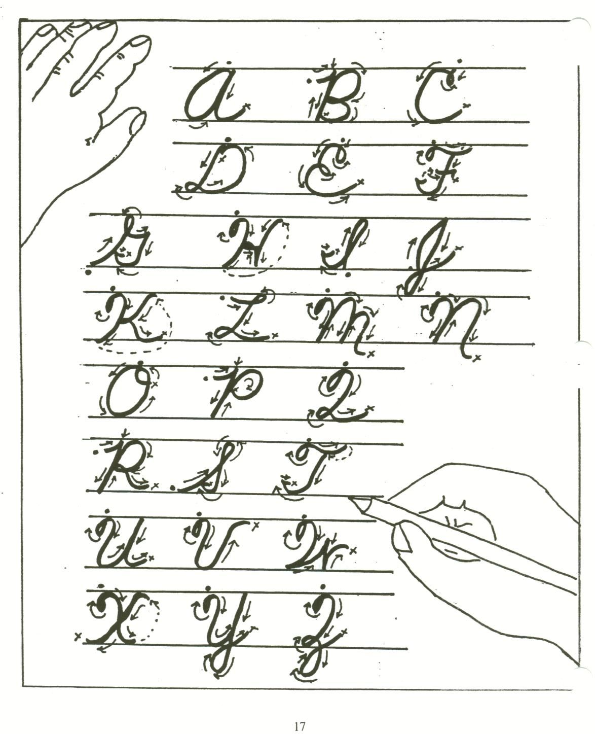 Worksheet Teaching Cursive cursive gets scripted back to classroom in r xiii schools saint the alphabet