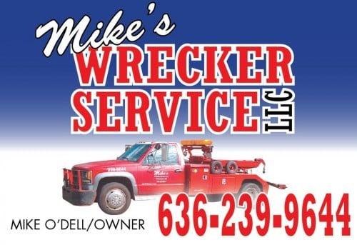 Mike's Wrecker Sponsor