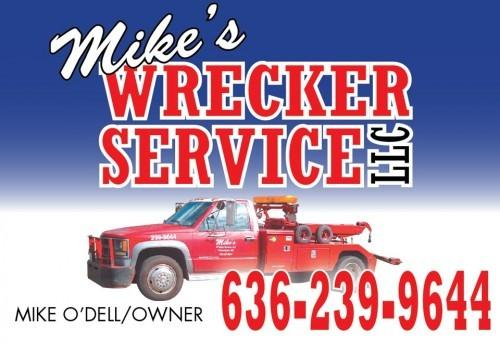 Mike's Wrecker Sponsor