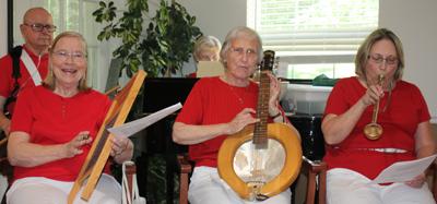 County Seat Senior Center Kitchen Band