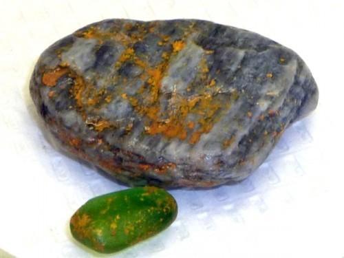 Phosphorus-Covered Rocks