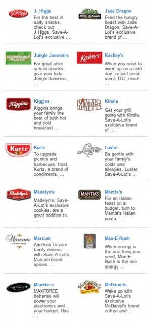 Save-A-Lot Food Brands