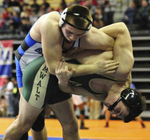 Washington's Summers Claims First Medal at State Wrestling