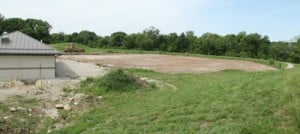 Grade Land for Tennis Courts
