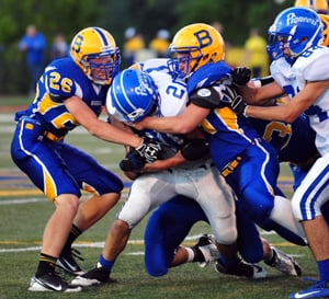 Making the Tackle