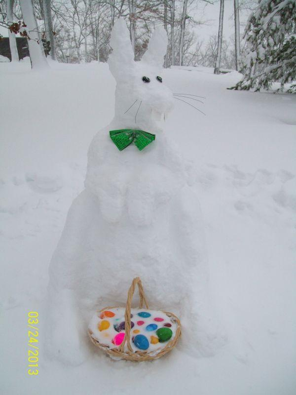 Marthasville Snow Bunny