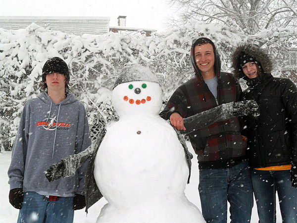 Happy Snow Dude