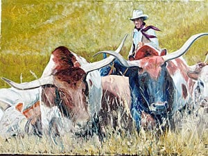 """Cattle Drive"" by Ron Emig"