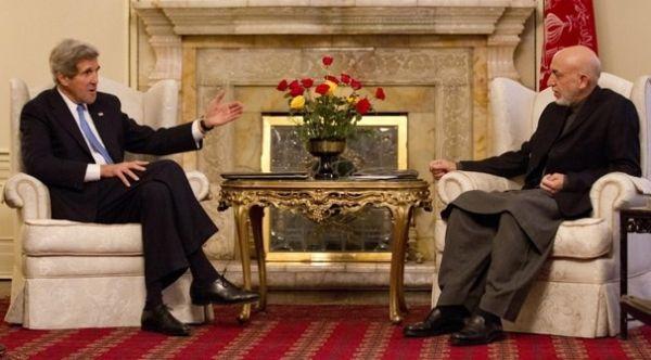 Kerry Visits Afghanistan