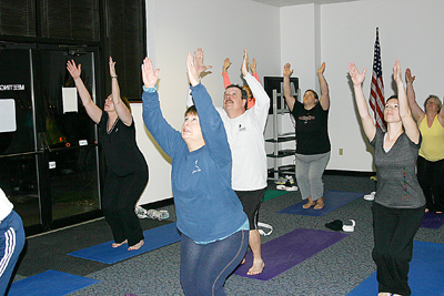 Beginning Yoga at Scenic Regional in Union