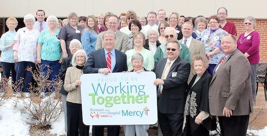 Hospitals Celebrate New Affiliation