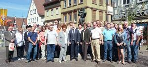 Washington Delegation in Marbach
