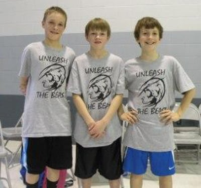 Fourth-Place Team for Fifth-Grade Boys