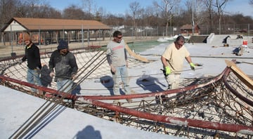 Washington Skate Park Nears Completion