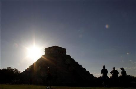 Mayan Kukulkan Pyramid