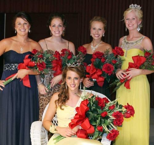 2012 Queen and Her Court