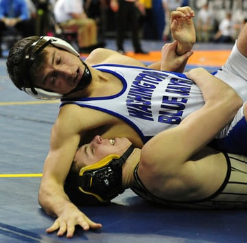 Four All-State Wrestlers Lead Blue Jays to Sixth