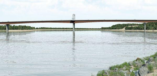 Proposed Missouri River Bridge Design for Washington