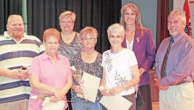 School District Retirees Honored