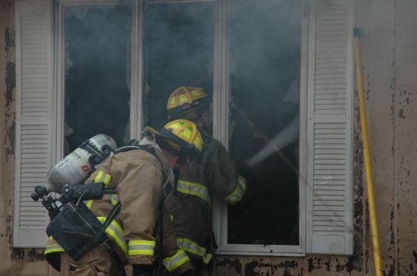 Crews Battle Fire