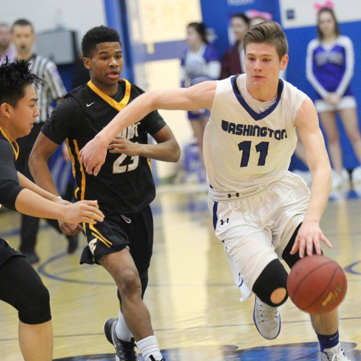 Boys Basketball — Washington vs. Ft. Zumwalt East